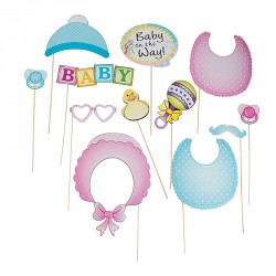 Photo Booth Baby - Set 12 pz