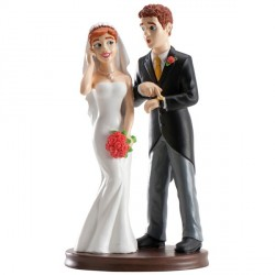 Cake Topper - Sposa in Carriera