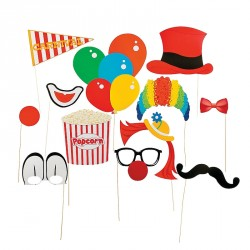 Photo Booth Clown - Set 12 pz