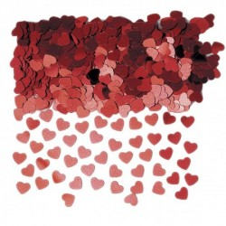 Sparkle Hearts Red - Mix 40 g.