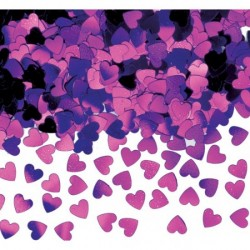 Sparkle Hearts Lavender - Mix 40 g.