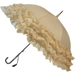 Umbrella Triple Frill - White