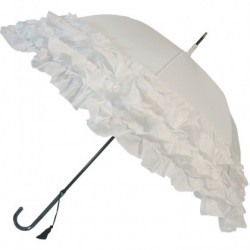 Umbrella Triple Frill - Bianco