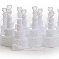 Wedding Cake Bubble Soap - Pack of 12