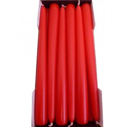 Stick Candles Red - Pack of 12