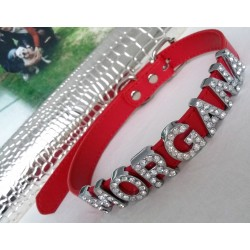 Leather Personalised Dog Collar