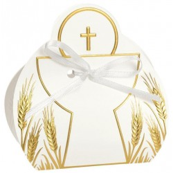Favor box whit Chalice and Cross