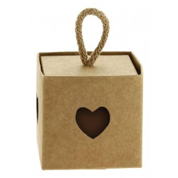 Craft Favor Box with Heart