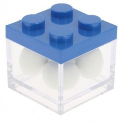 Blue Lego Favor Box