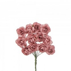 Antique Pink Decorative Tea Roses