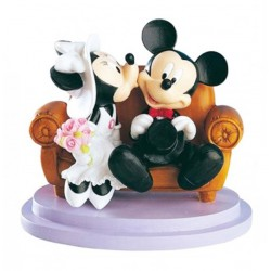 Mickey Mouse & Minnie -  Caketop