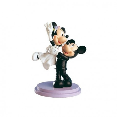 Mickey Mouse & Minnie Just Married -  Caketop