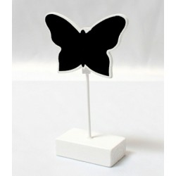 Butterfly Placecard Holder Chalkboard