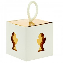 White Favor Box with Chalice