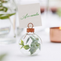 Eucalyptus Bauble Place Card Holders