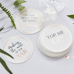 Paper Coaster - Set of 12