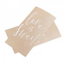 20 Love is Sweet Favour Bags