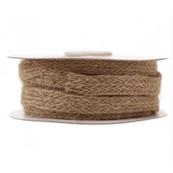 Natural Hessian Burlap Ribbon 10 mm