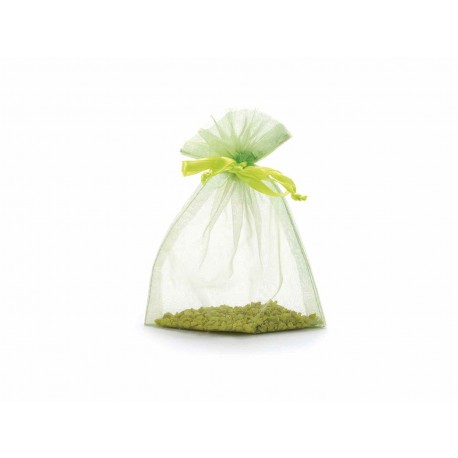 Green Apple Sheer Pouches