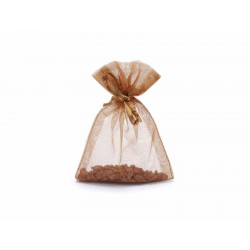 Brown Sheer Pouches