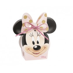 Minnie Favor Box with gold glitter