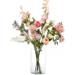 Pink Bouquet fiori artificiali XL