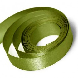 Olive Green Satin Ribbon