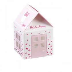 House Favor Boxes Minnie Stars