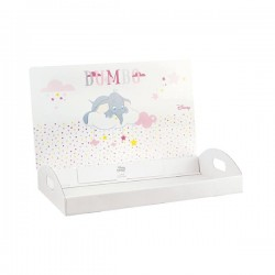 Soft Pink Dumbo Tray for favor boxes