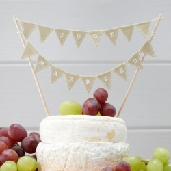 Just Married Caketop