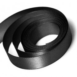 Black Satin Ribbon