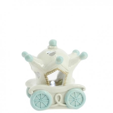 Light Blue Carriage whit Led