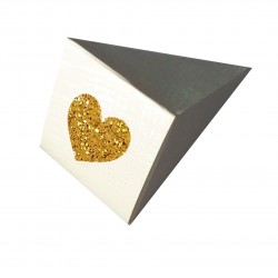 Paper Cones with Glitter