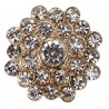 Gold Estella Crystal Embellishment