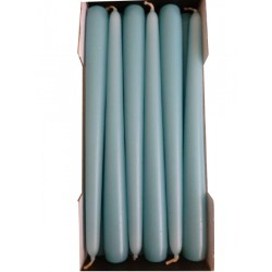 Stick Candles Ice Blue - Pack of 12