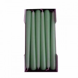 Stick Candles Smerald - Pack of 12